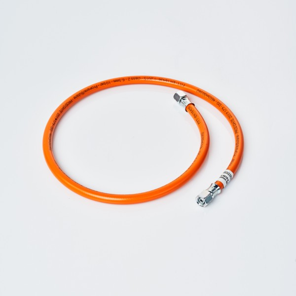 Gas hose 1 meter for gas hob or gas grill