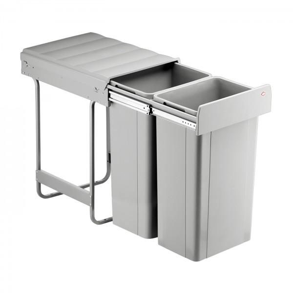 Wesco inbouw afvalbak 2 x 32 liter