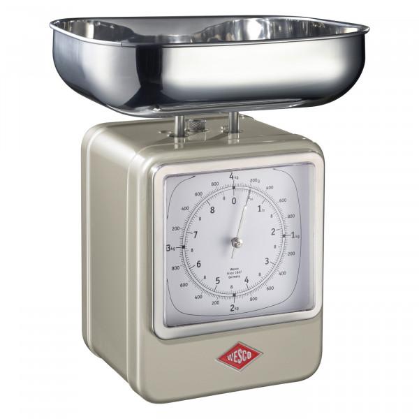 Retro Scale with Clock
